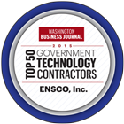 ENSCO Named a Top Government Technology Contractor – Washington Business Journal's Top 50 List